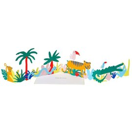 Meri Meri Birthday Card - Jungle Fold-Out