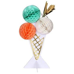 Meri Meri Birthday Card - Ice Cream Honeycomb