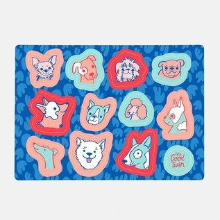 The Good Twin Dogs Sticker Sheet