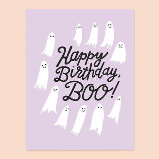 The Good Twin Birthday Card - Boo
