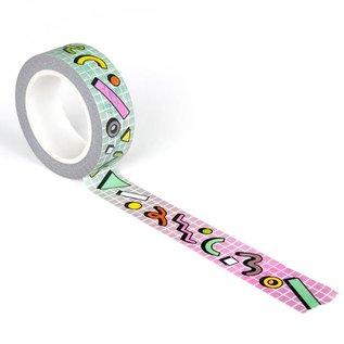Smarty Pants Paper Rad Retro Washi Tape