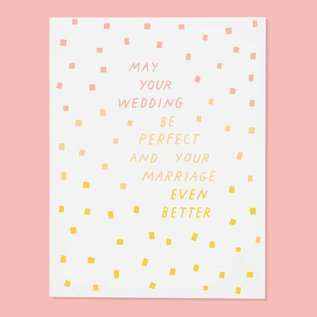 The Good Twin Wedding Card - Perfect Wedding