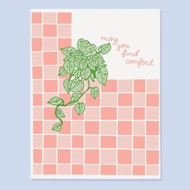 The Good Twin Sympathy Card - May You Find Comfort