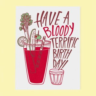 The Good Twin Birthday Card - Bloody Mary