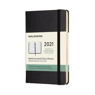 Chronicle Books / Moleskine Moleskine 2021 Horizontal Weekly Planners