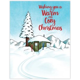 Waterknot Holiday Card - Warm & Cozy