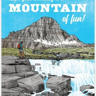 Waterknot Birthday Card - Mountain of Fun