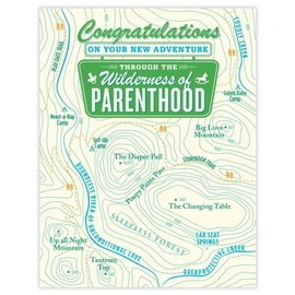 Waterknot Baby Card - Wilderness Of Parenthood