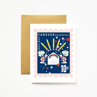 ilootpaperie Greeting Card - Snail Mail Forever