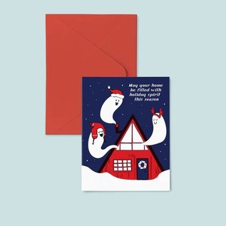 Pier Six Press Holiday Card - Holiday Spirits