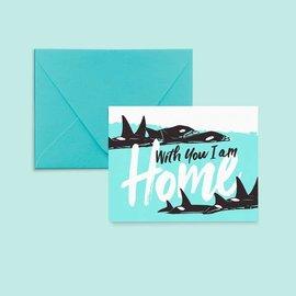 Pier Six Press Love Card - Orca Home
