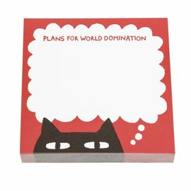 Ohh Deer Sneaky Cat Sticky Notes