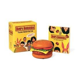 Perseus Books Group Bob's Burgers Talking Burger Button