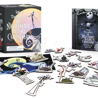 Perseus Books Group Nightmare Before Christmas Magnet Set