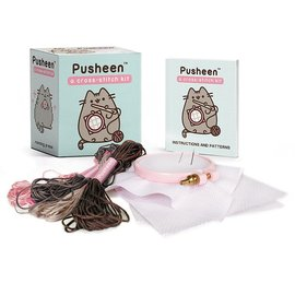 Perseus Books Group Pusheen Cross-Stitch Kit