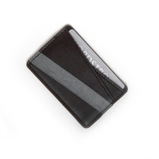 Tech Candy SALE Phone Back Wallet Black/Gray