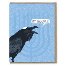Modern Printed Matter Holiday Card - Happy Hanu-cah cah!
