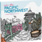 Workman Publishing Color the Pacific Northwest Coloring Book
