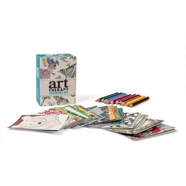 Perseus Books Group Art Therapy Coloring Kit