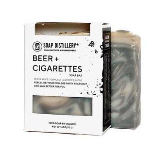 Soap Distillery Beer & Cigarettes Soap Bar