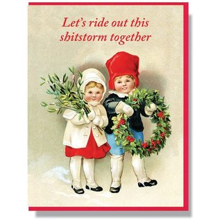 Smitten Kitten Holiday Card - Shitstorm