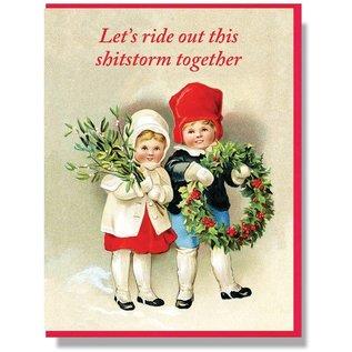 Smitten Kitten Holiday Card - Shitstorm