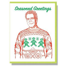 Smitten Kitten Holiday Card - Anthony Bourdain