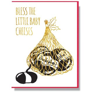 Smitten Kitten Holiday Card - Baby Cheeses