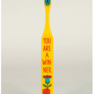 Blue Q Toothbrush - You're a Winner