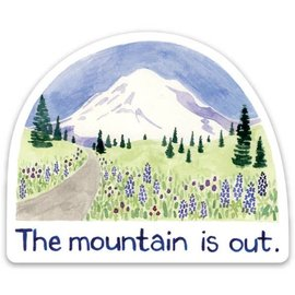 Yardia The Mountain is Out Sticker