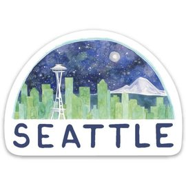 Yardia Seattle Skyline Sticker
