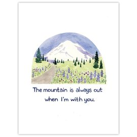 Yardia The Mountain is Out 8x10 Print