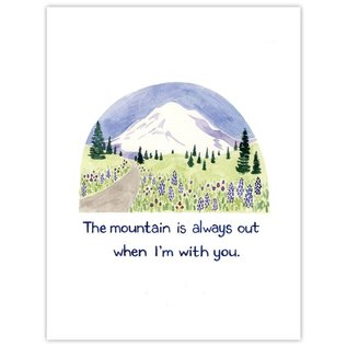 Yardia The Mountain is Out Print