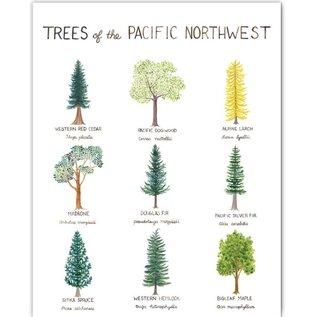 Yardia Trees of the PNW Print