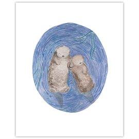Yardia Otters Print