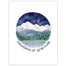 Yardia Thank You Card - Mountains of Gratitude