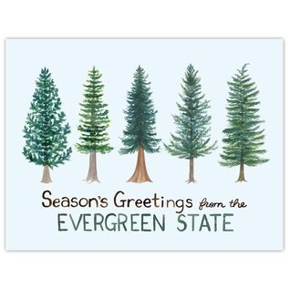 Yardia Holiday Card - Evergreen State