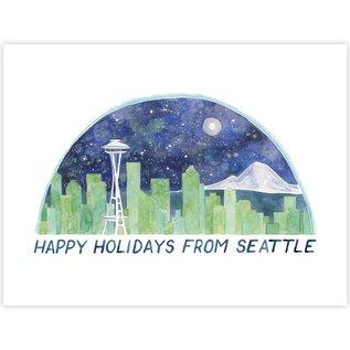 Yardia Holiday Card - Seattle Holiday