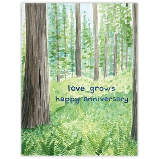 Yardia Anniversary Card - Love Grows