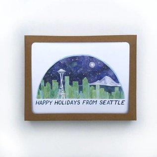 Yardia Seattle Holiday Boxed Notes