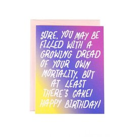 The Witty Gritty Paper Co. Birthday Card - Growing Dread
