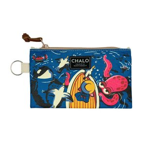 Chalo SALE PNW Marine Life Pouch