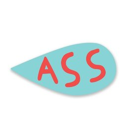 Mincing Mockingbird Ass Sticker