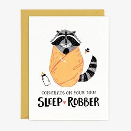 Paper Pony Co. Baby Card - Sleep Robber