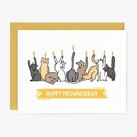 Paper Pony Co. Holiday Card - Meownukkah
