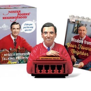 Perseus Books Group Mister Rogers Talking Figurine