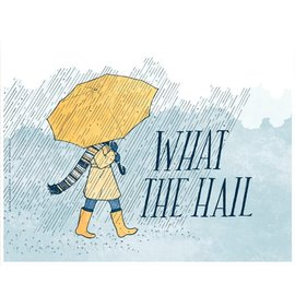 Frida Clements What the Hail Print