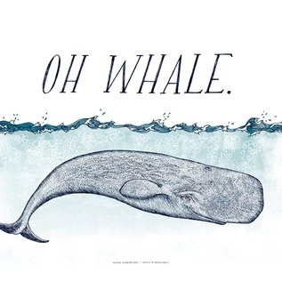 Frida Clements Oh Whale Print