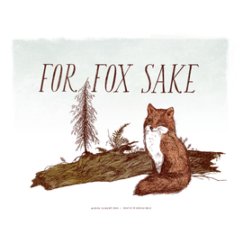 Frida Clements For Fox Sake Print