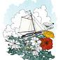 Frida Clements Dreamboat Print
